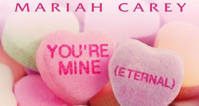"Copertina singolo ""You're Mine (Eternal)"" di Mariah Carey"