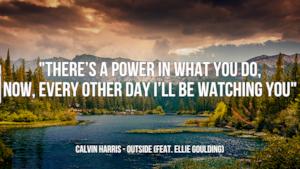 Calvin Harris: le migliori frasi dei testi delle canzoni