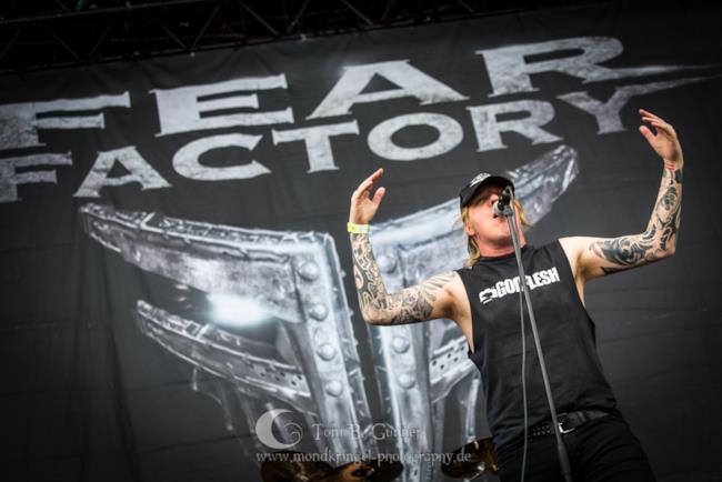 Burton C. Bell, cantante dei Fear Factory