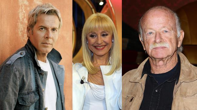 I tre ospiti di Sanremo 2014 confermati: Gino Paoli, Claudio Baglioni e Raffaella Carrà