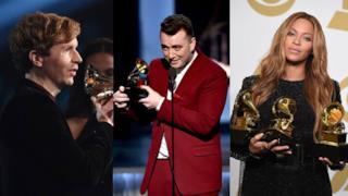 Grammy 2015, i vincitori sono stati Sam Smith, Beyoncé e Beck