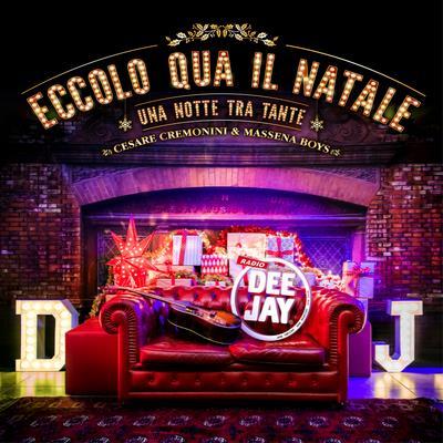La copertina di Eccolo qua il Natale di Cesare Cremonini & Massena Boys