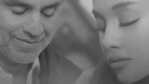 Ariana Grande ed Andrea Bocelli
