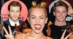 Miley Cyrus tra Liam Hemsworth e Patrick Schwarzenegger