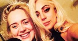 Adele e Lady Gaga selfie gennaio 2015