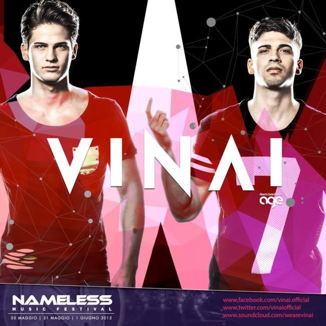 Il duo bresciano Vinai sarà presente al Nameless il 30 maggio