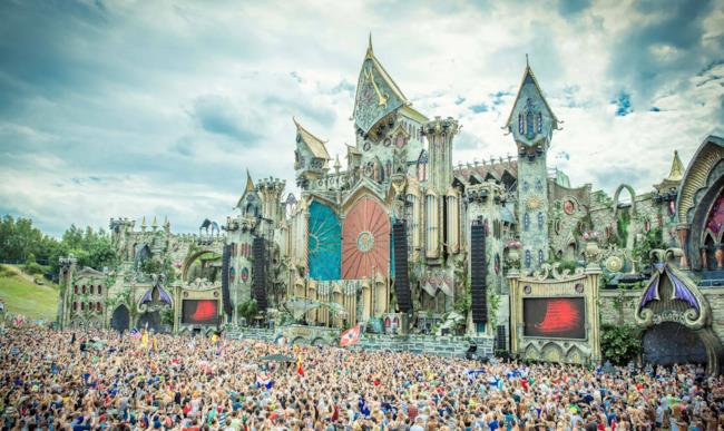 Mainstage Tomorrowland 2015
