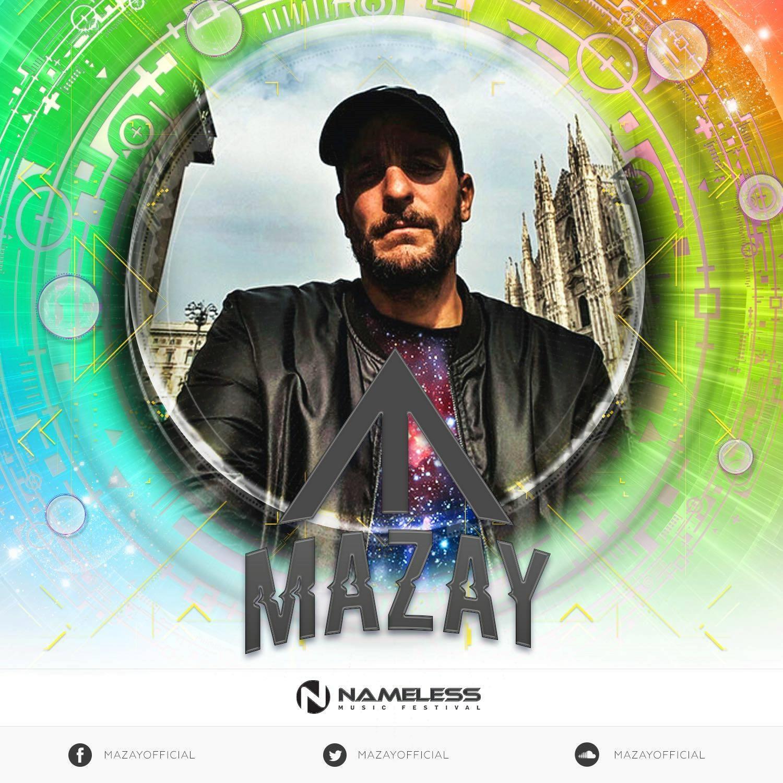 L'annuncio di Mazay, presente il 2 giugno al Nameless Music Festival