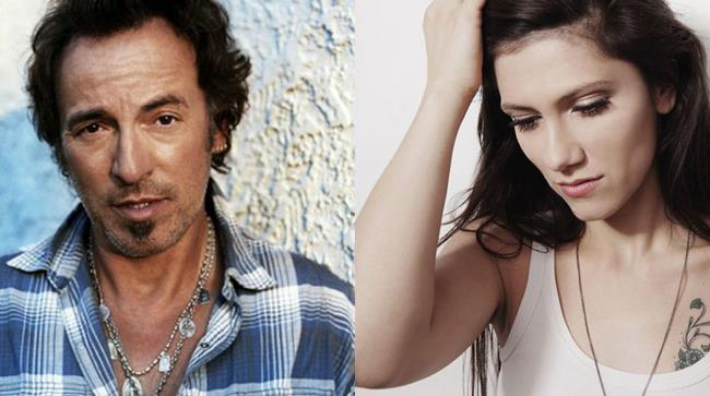 Elisa e Bruce Springsteen
