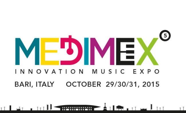 Il logo di Medimex 2015