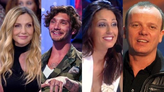 Lorella Cuccarini, Stefano De Martino, Anna Tatangelo e Gigi D'Alessio