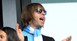 Liam Gallagher tifa Manchester City