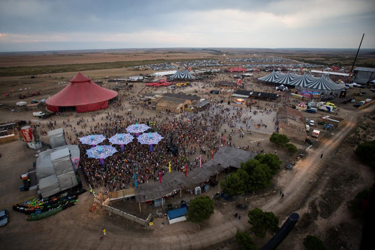 Monegros Desert Festival, panoramica