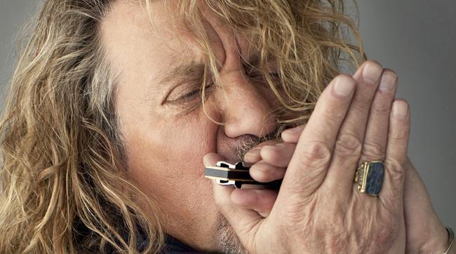 Robert Plant in tour nel nostro Paese quest'estate