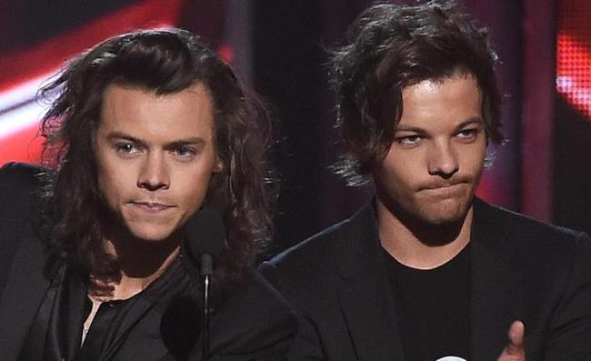 Harry Styles e Louis Tomlinson degli One Direction