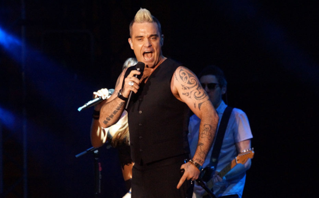 Robbie Williams al Lucca Summer Festival