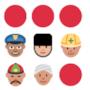 La copertina emoji di The Very Best of Village People