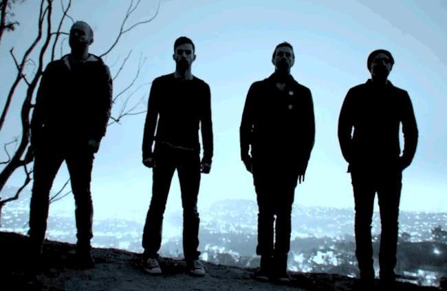 I quattro membri dei Coldplay