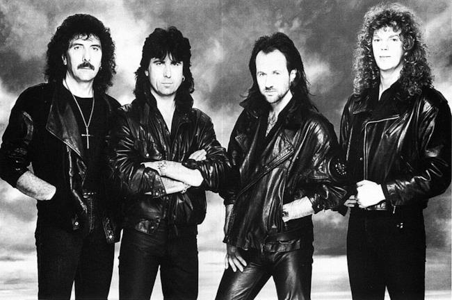 I Black Sabbath nel 1989