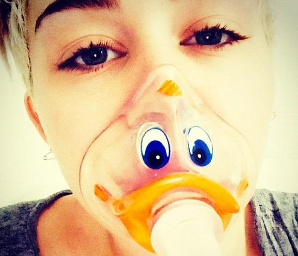 Miley Cyrus in ospedale