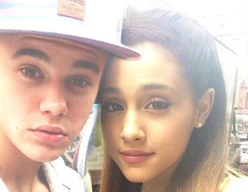 Justin Bieber e Ariana Grande