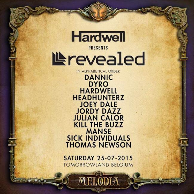 Lo Stage Revealed ospiterà il fondatore Hardwell e i migliori DJ della label