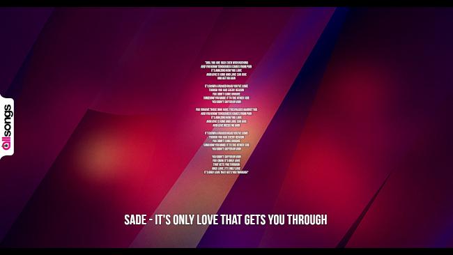 Sade: le migliori frasi dei testi delle canzoni