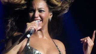 Beyoncé in un live