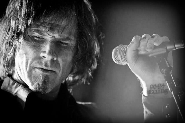 Mark Lanegan in bianco e nero