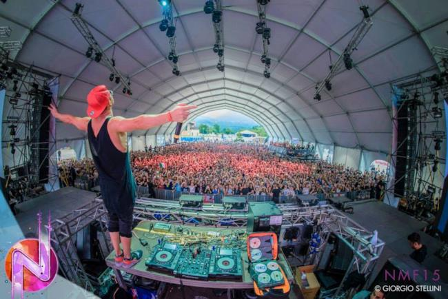 Timmy Trumpet sul Mainstage di Nameless Music Festival