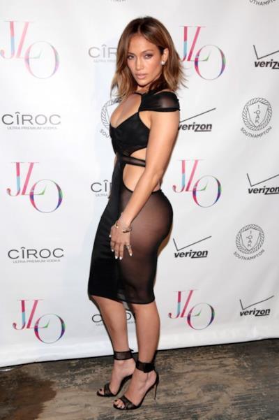 Jennifer Lopez sexy a 46 anni