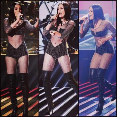 Il look di Jessie J a X Facor UK