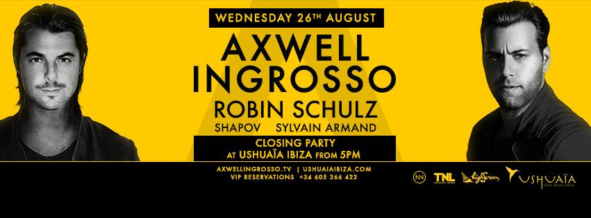 Axwell /\ Ingrosso Departures