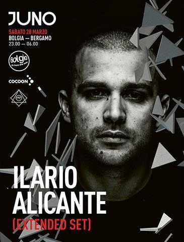 Ilario Alicante Ospite del Bolgia