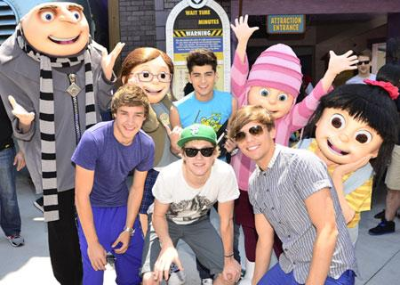 One Direction Universal Studios Orlando Florida