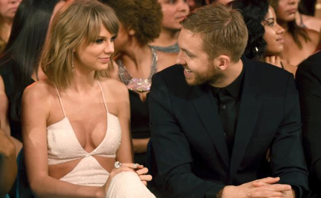 Taylor Swift e il compagno Calvin Harris