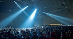 Il pubblico presente al Club to Club di Torino