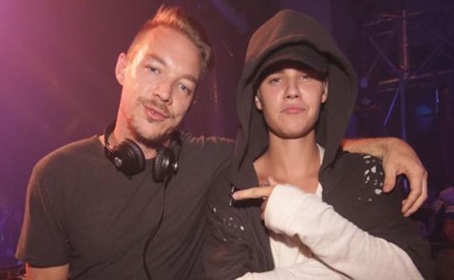 Justin Bieber e Diplo dei Major Lazer