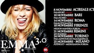 Emma 3.0 locandina tour novembre 2014