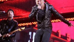 The Boss e gli U2 sul palco del Madison Square Garden