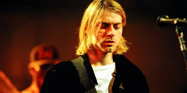 Kurt Cobain in concerto