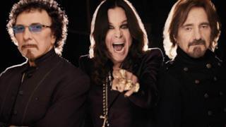 Black Sabbath nel 2014: Ozzy Osbourne, Tony Lommi e Geezer Butler