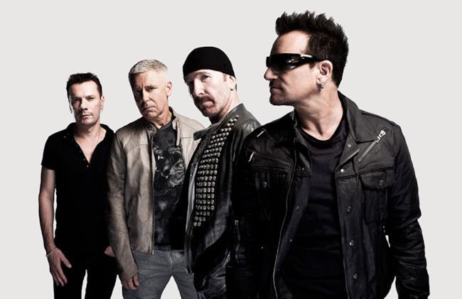 I quattro membri degli U2