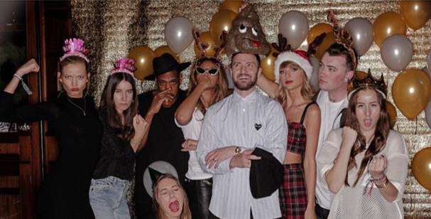 Justin Timberlake alla festa di compleanno di Taylor Swift