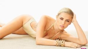 Miley Cyrus su Maxim 2013