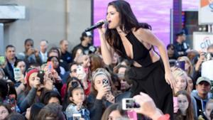 Selena Gomez canta dal vivo al Today Show 2015