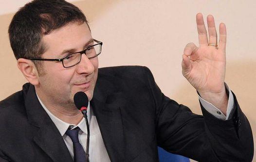 Fabio Fazio in conferenza stampa