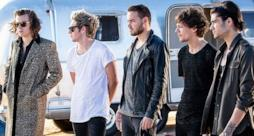 I One Direction sul set del video di Steal My Girl