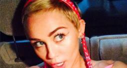 Miley Cyrus con le treccine su Instagram