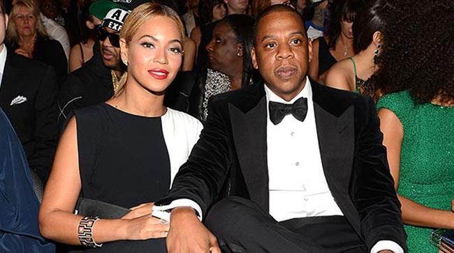 Beyoncé e Jay-Z insieme a un evento